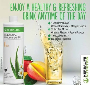 herbalife aloe benefitd