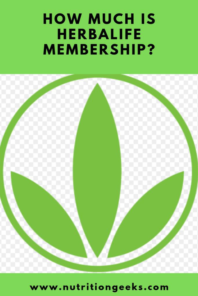 how much is herbalife membership